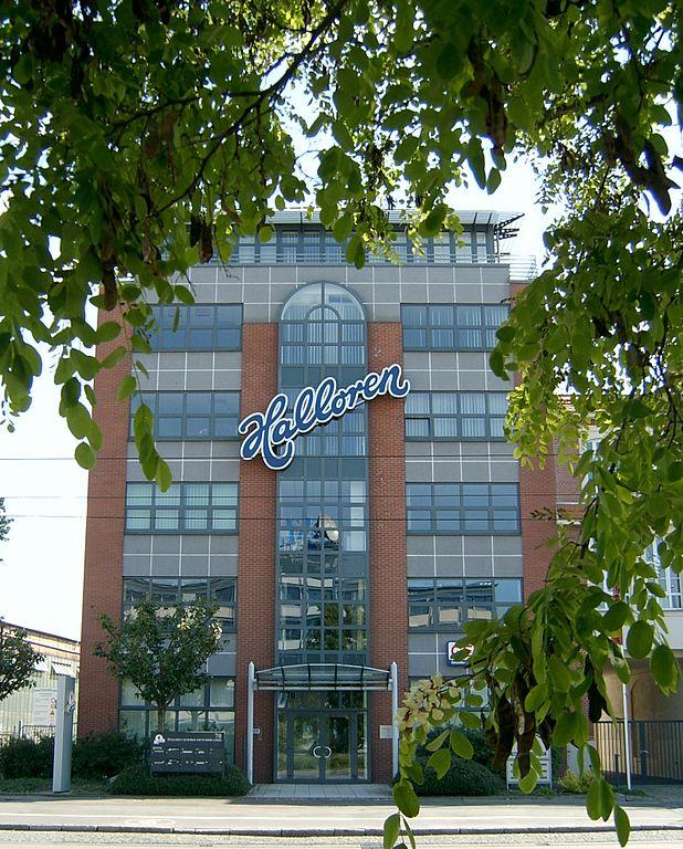 Halloren - die älteste Schokoladenfabrik in Deutschland und börsennotiert.