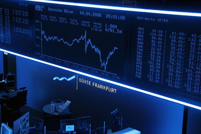 Der Kursverlauf an der Frankfurter Börse.