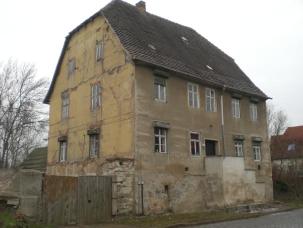 """Das alte """"neue Pfarrhaus"""" im heutigen Teutschenthaler Ortsteil Eisdorf."""
