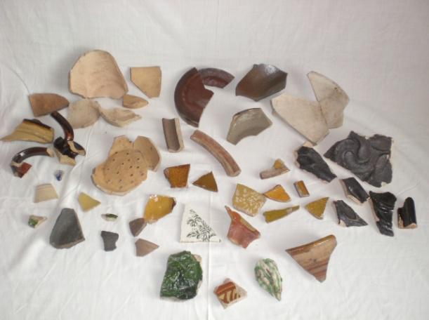 Scherben machen zumindest Archäologen glücklich!