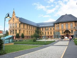 Das Bergmannstrost in Halle (Saale) steht in alter bergmännischer Tradition, daher auch der Name.