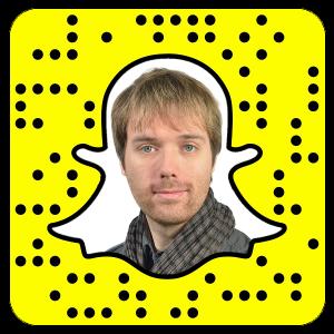 Christian Allner findet sich auch beim neuen Netzwerk Snapchat.