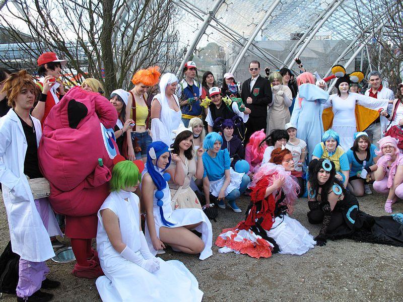 Auch dieses Jahr machen die Manga-Begeisterten die Messe wieder bunter.