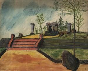 Abb 4 Zeichnung der Neuanlage von 1934