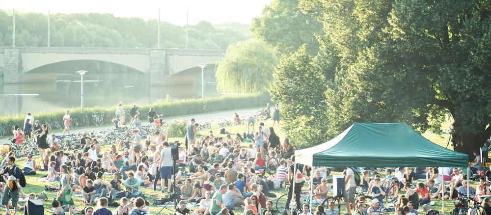 Der Hörspielsommer in Leipzig zieht immer viele Zuschauer und Hörspielbegeisterte an.