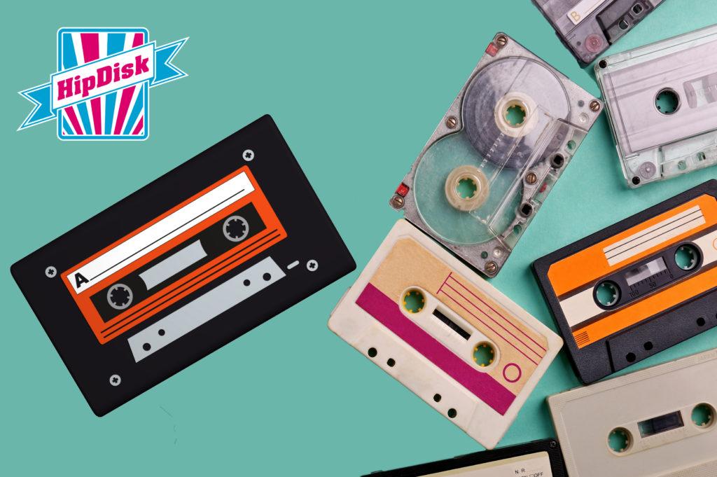 Externe Festplatte 'HipDisk' Old School stark im Trend