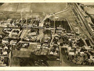 "Abb. 1: Das Kaliwerk ""Krügershall"" um 1930. Foto: Leske 2016"