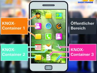 Digittrade mit Samsung Knox und Chiffry in Nürnberg auf der it-sa.