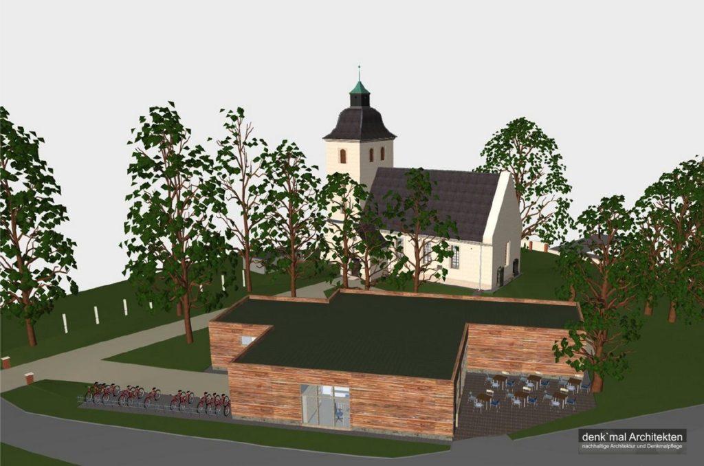 Rast- und Konzertkirche Mösthinsdorf