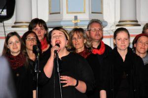 Musik und Kultur auf dem Lande startete mit Joy´n´us in der Kirche Mösthinsdorf