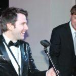 Andrew Carrington & Andras de Laszlo hatten viel Spaß beim Konzert
